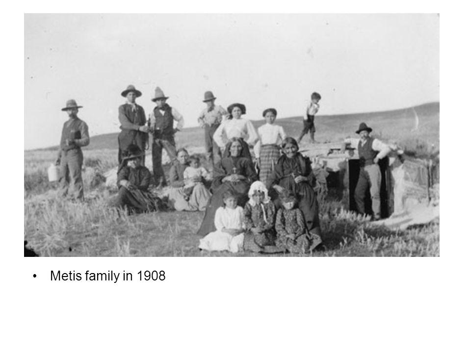 Metis family in 1908