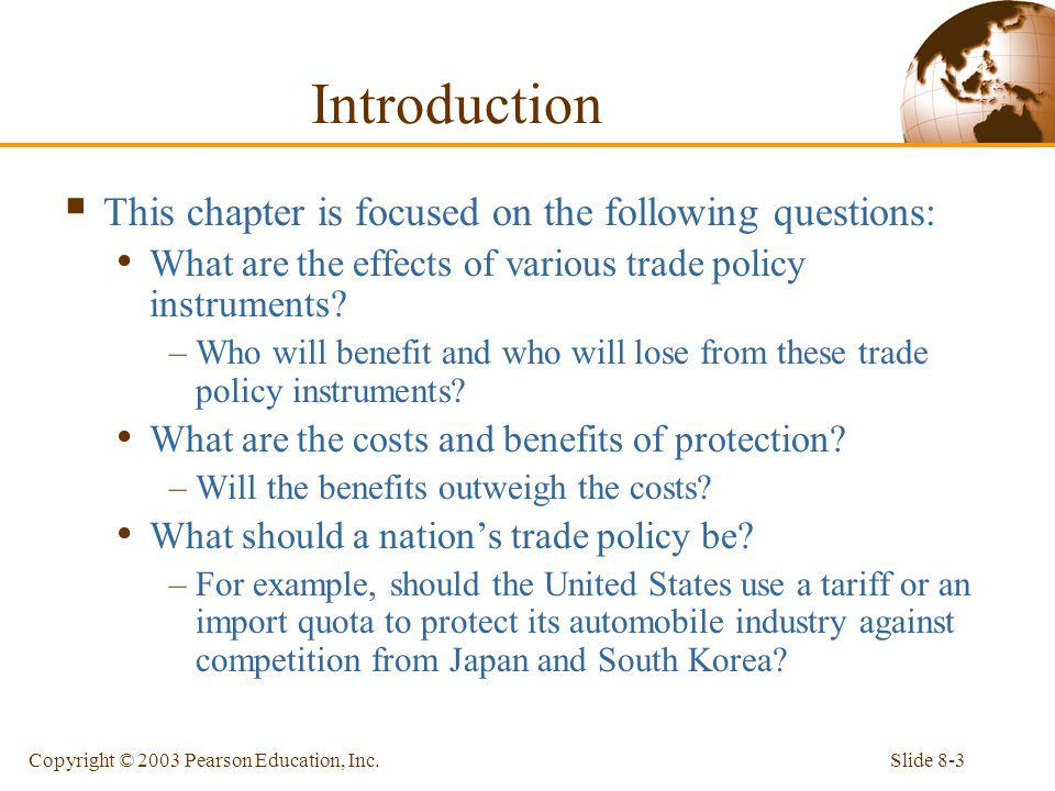 Introduction This chapter is focused on the following questions: