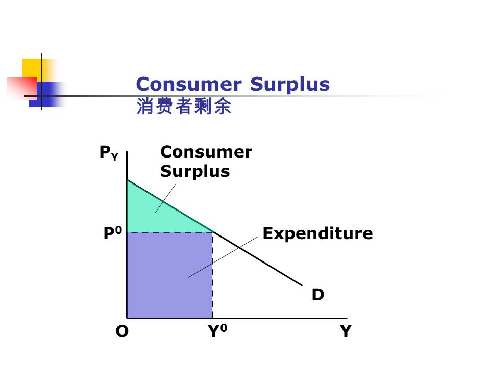 Consumer Surplus 消费者剩余