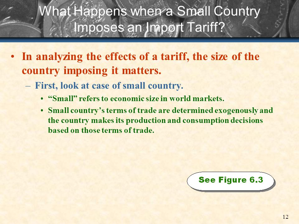 What Happens when a Small Country Imposes an Import Tariff