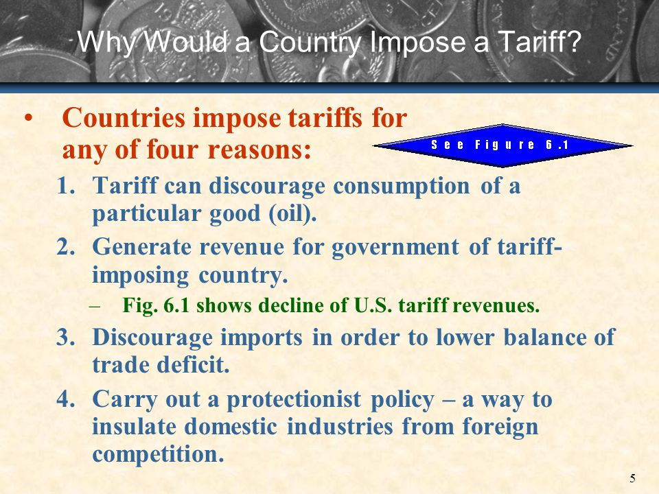 Why Would a Country Impose a Tariff