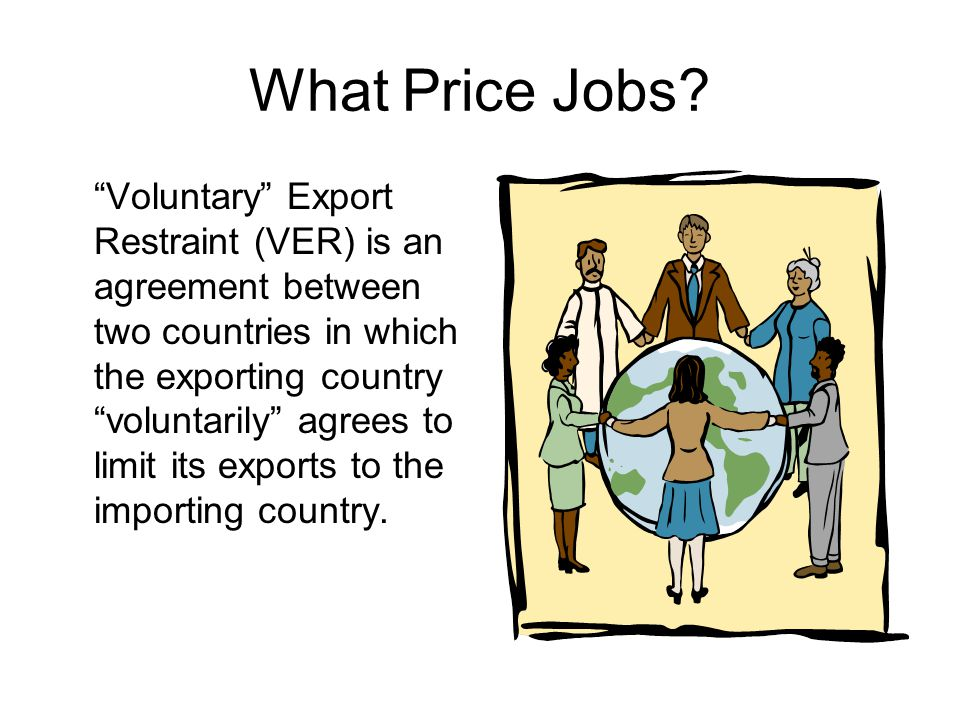 What Price Jobs