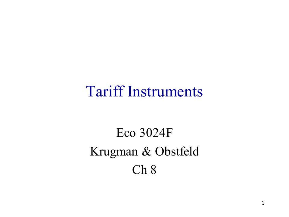 Eco 3024F Krugman & Obstfeld Ch 8