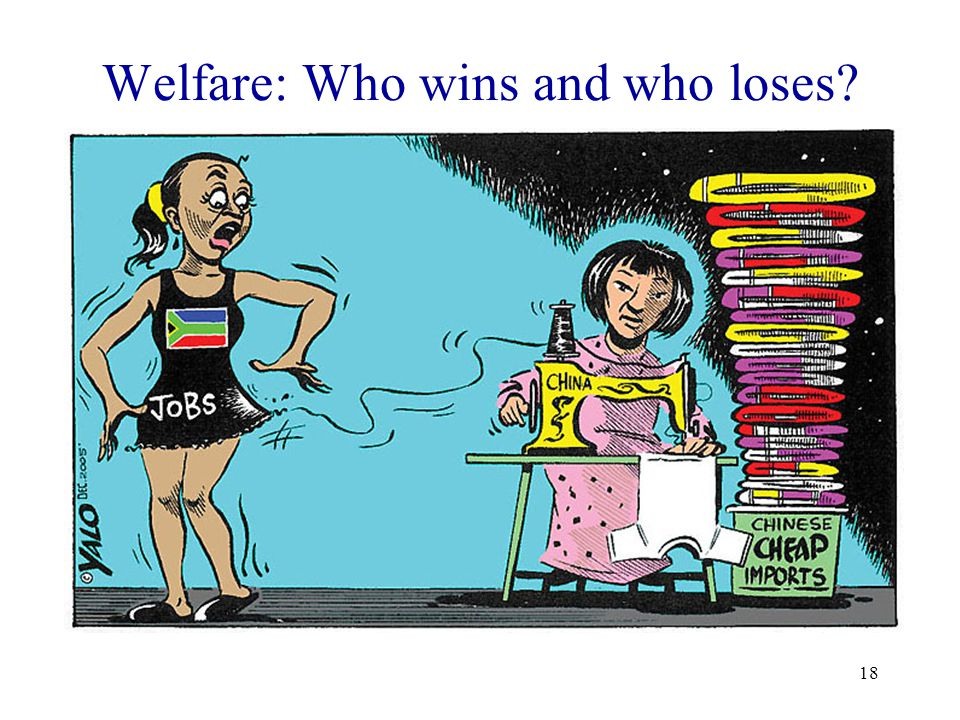 Welfare: Who wins and who loses