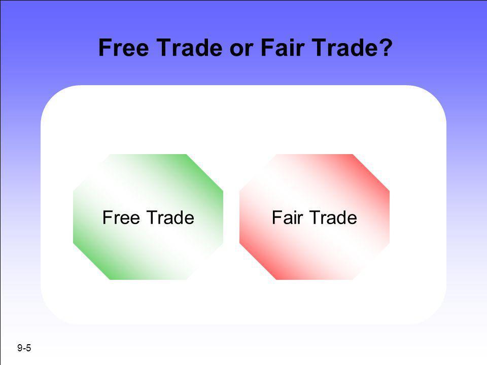 Free Trade or Fair Trade