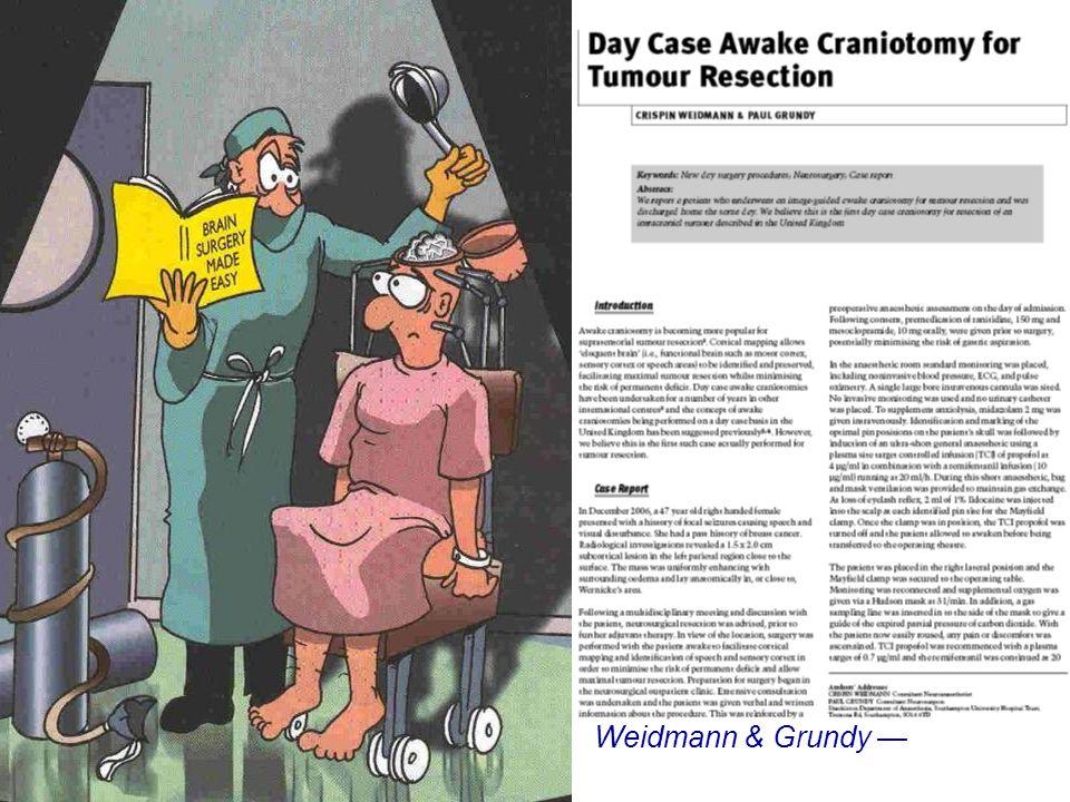 Weidmann & Grundy — J One-day Surg 18: 45, 2008
