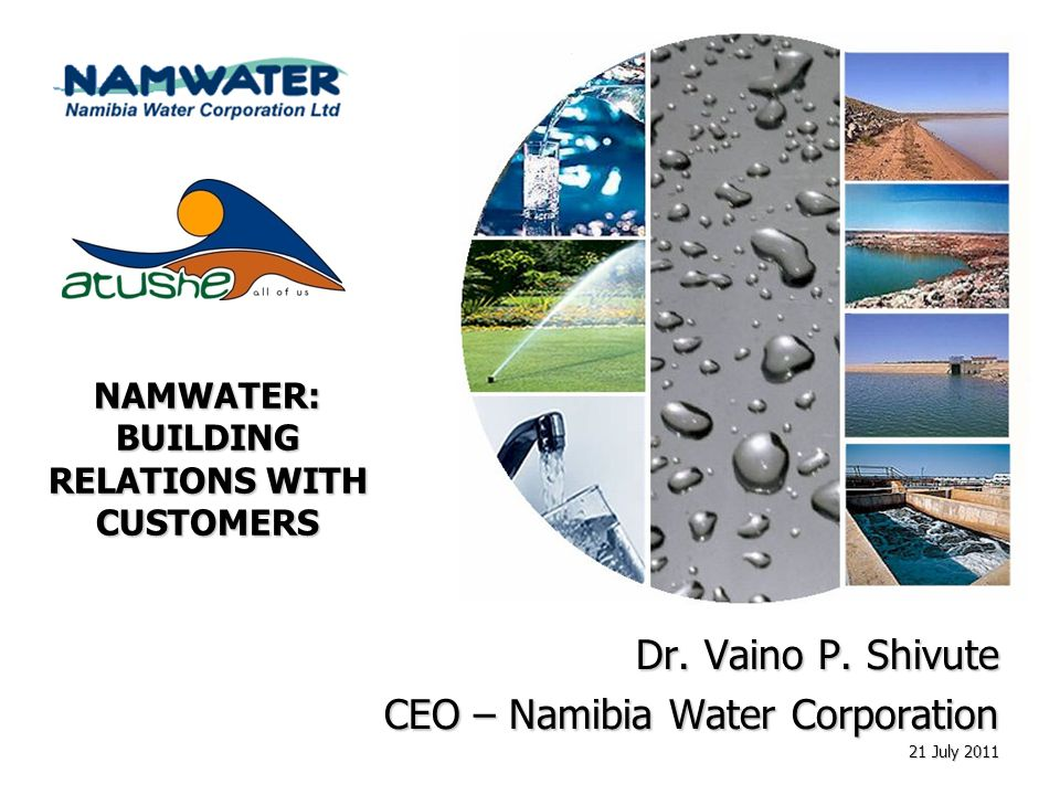 NAMWATER: BUILDING RELATIONS WITH CUSTOMERS