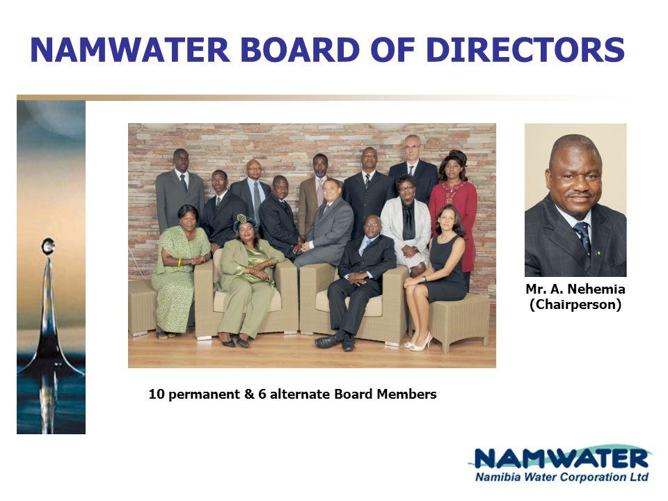 NAMWATER BOARD OF DIRECTORS
