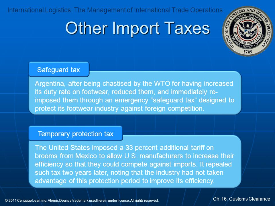 Temporary protection tax