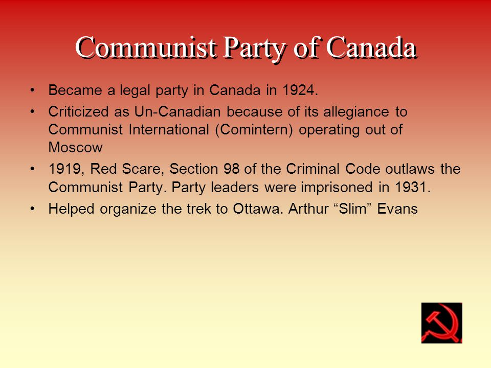 Communist Party of Canada