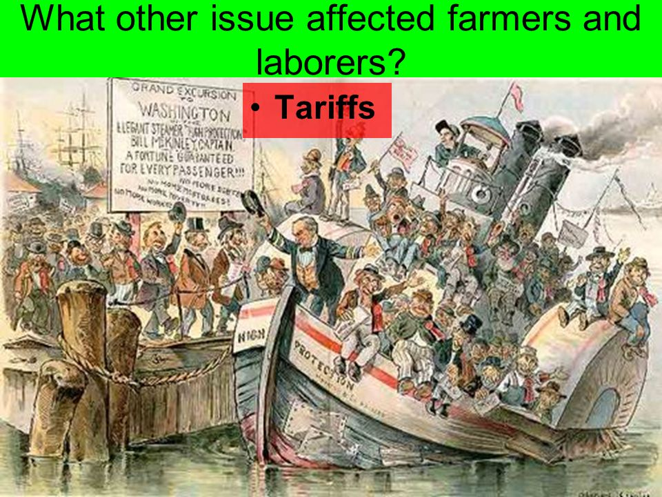 What other issue affected farmers and laborers