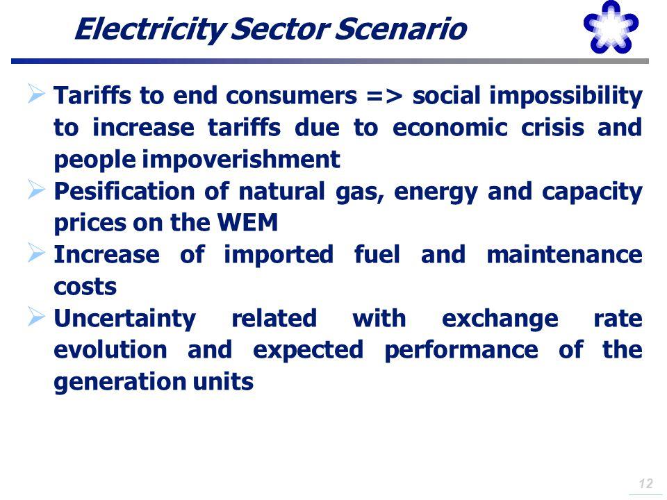 Electricity Sector Scenario