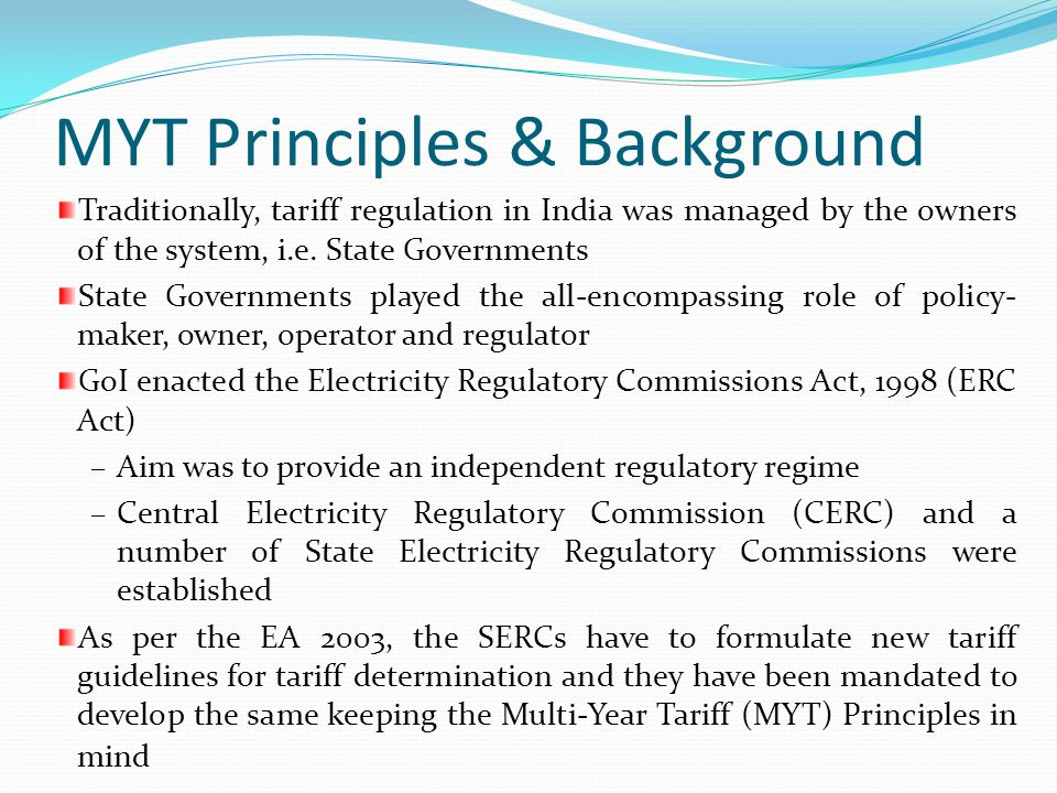 MYT Principles & Background