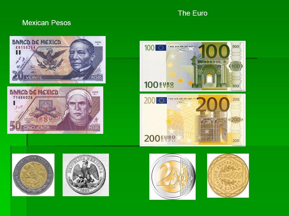 The Euro Mexican Pesos