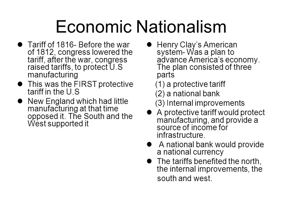 Economic Nationalism