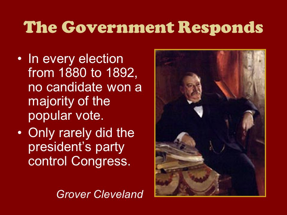 The Government Responds