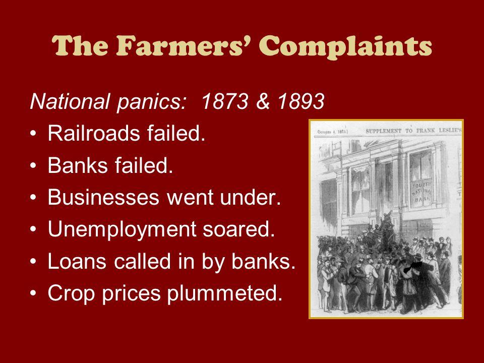 The Farmers' Complaints