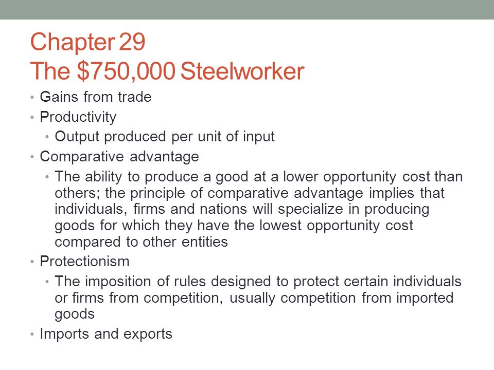 Chapter 29 The $750,000 Steelworker