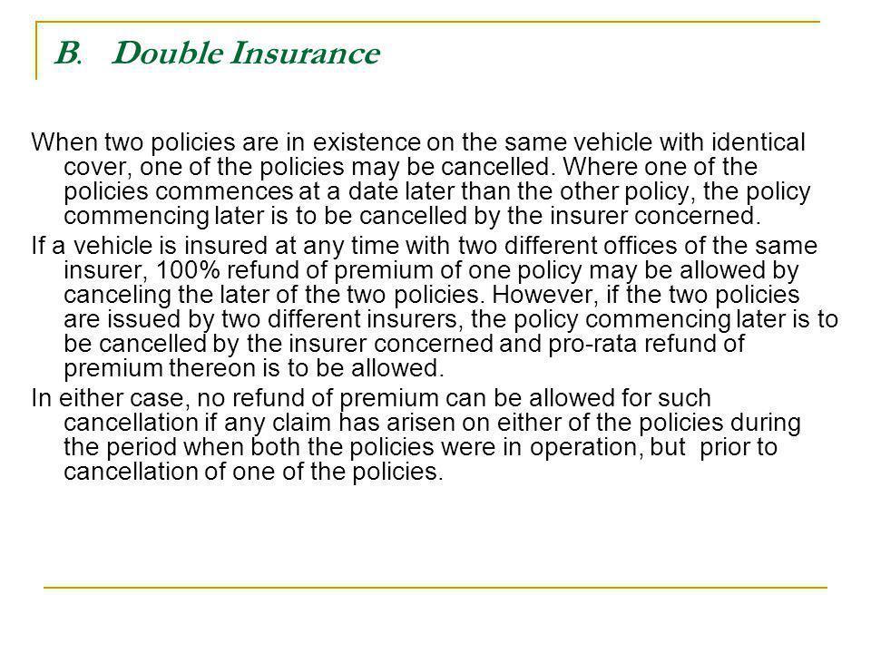 B. Double Insurance