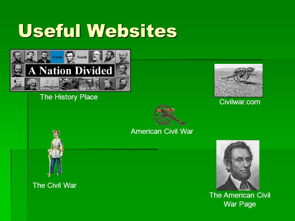 The American Civil War Page