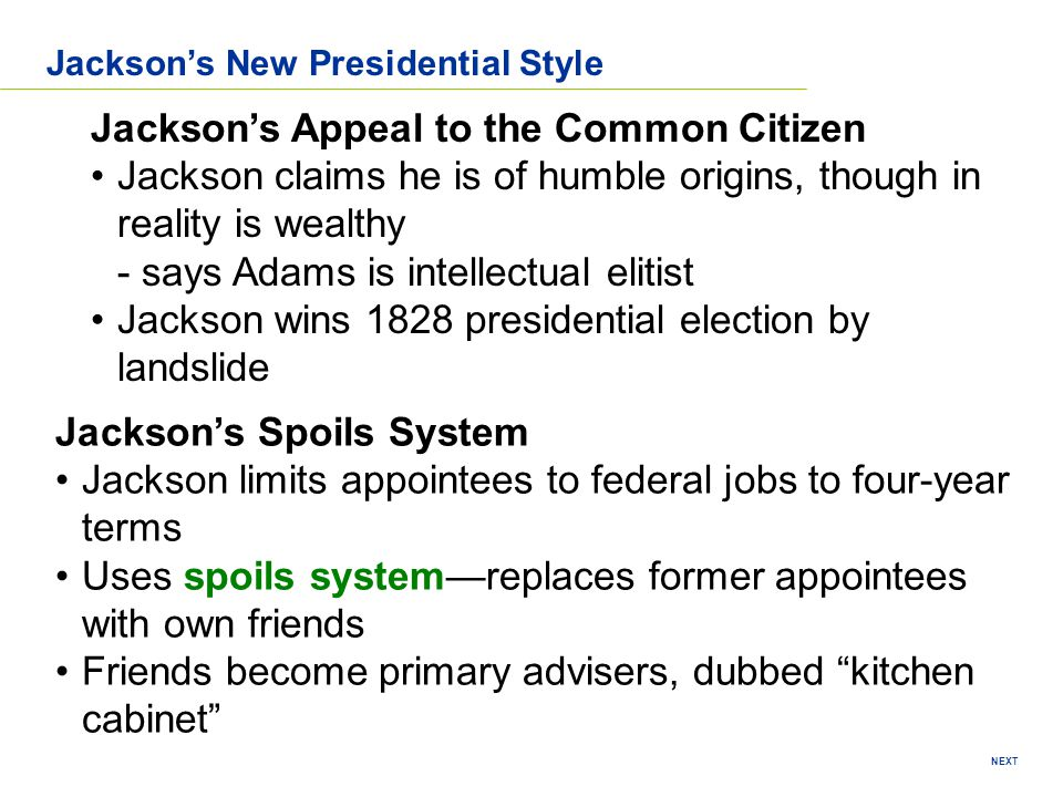 Jackson's Appeal to the Common Citizen