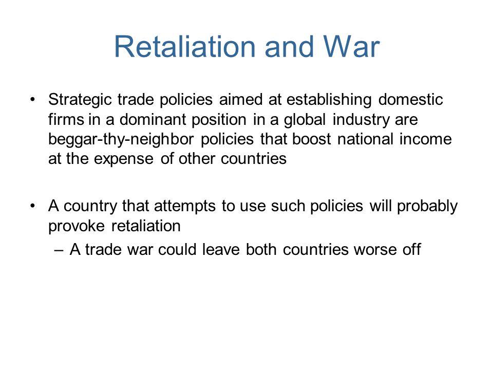Retaliation and War