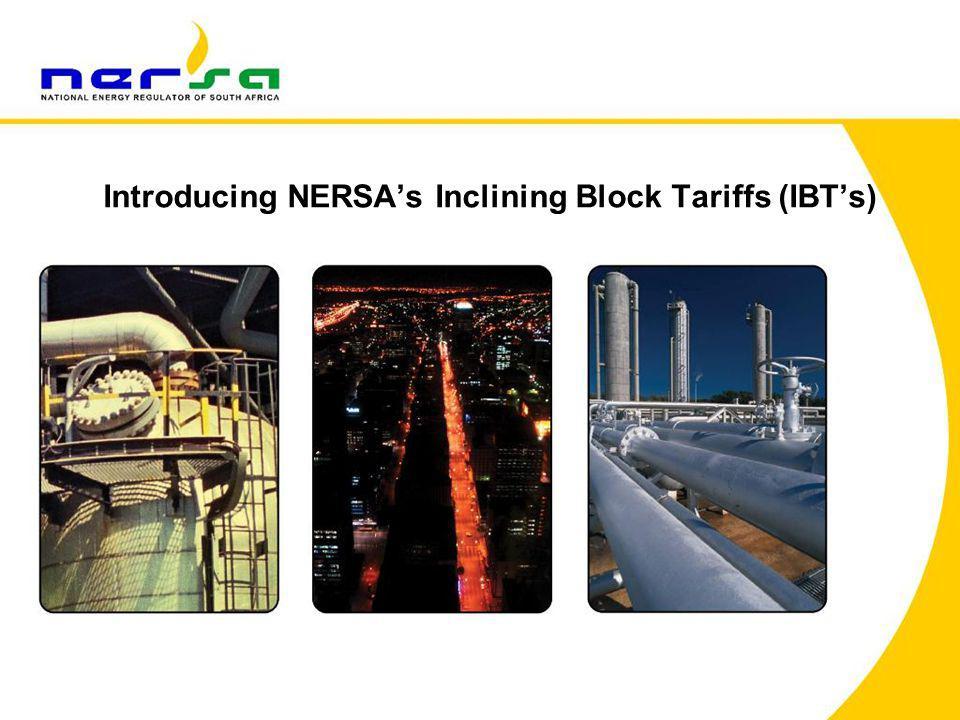 Introducing NERSA's Inclining Block Tariffs (IBT's)
