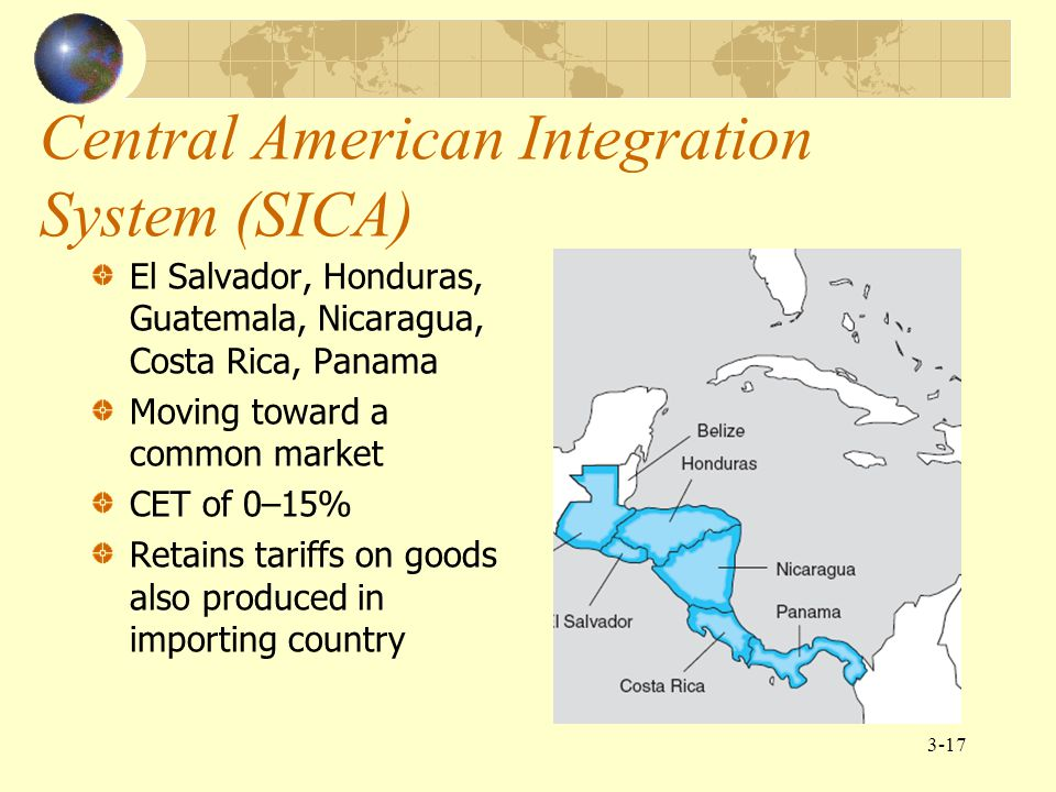 Central American Integration System (SICA)