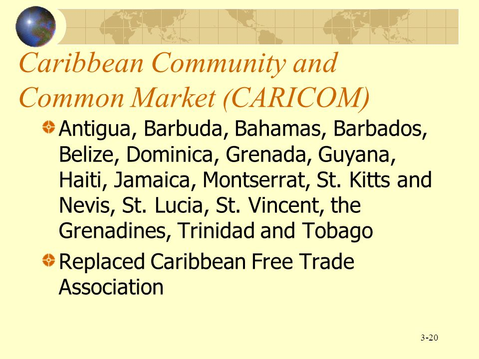 Caribbean Community and Common Market (CARICOM)