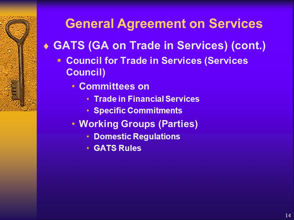 General Agreement on Services