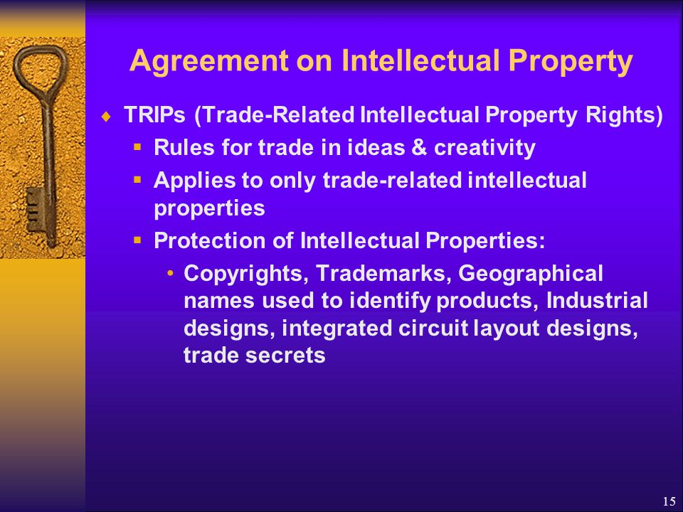 Agreement on Intellectual Property