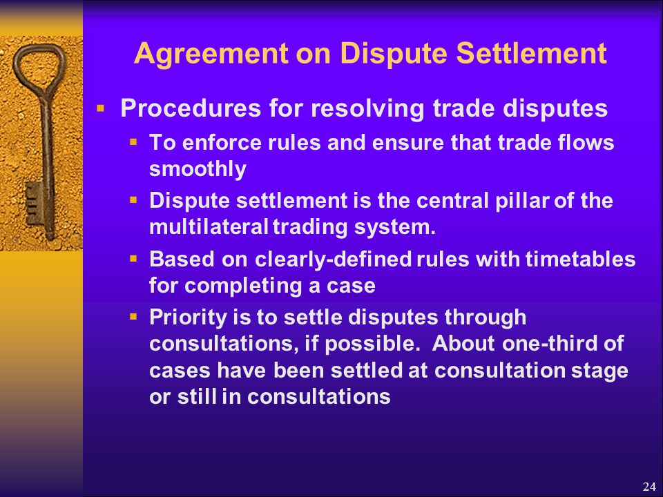 Agreement on Dispute Settlement