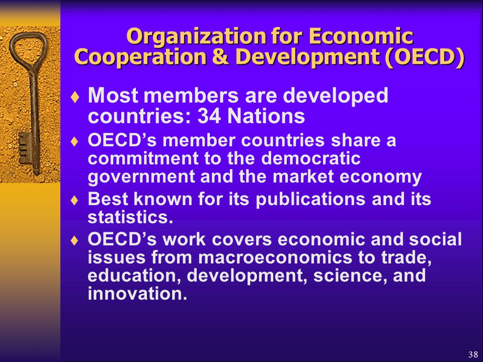Organization for Economic Cooperation & Development (OECD)