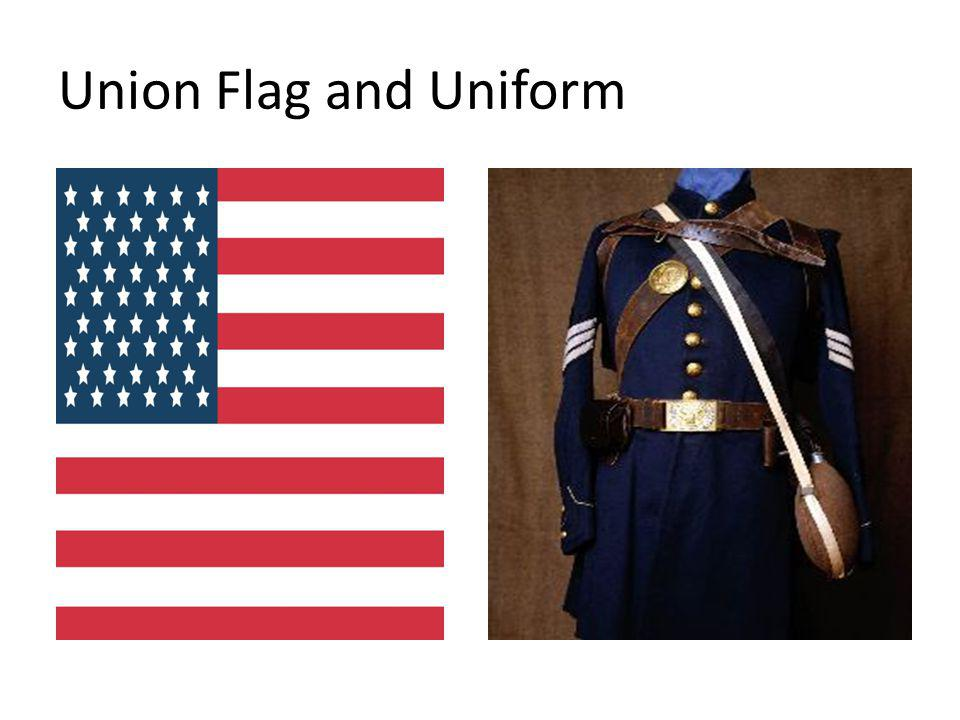Union Flag and Uniform