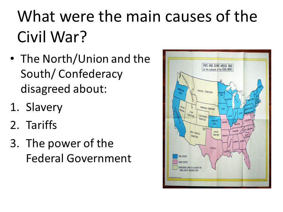 What were the main causes of the Civil War
