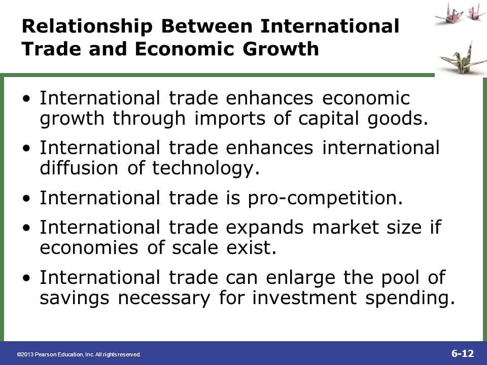 Relationship Between International Trade and Economic Growth