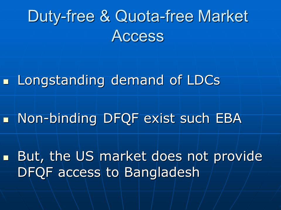 Duty-free & Quota-free Market Access
