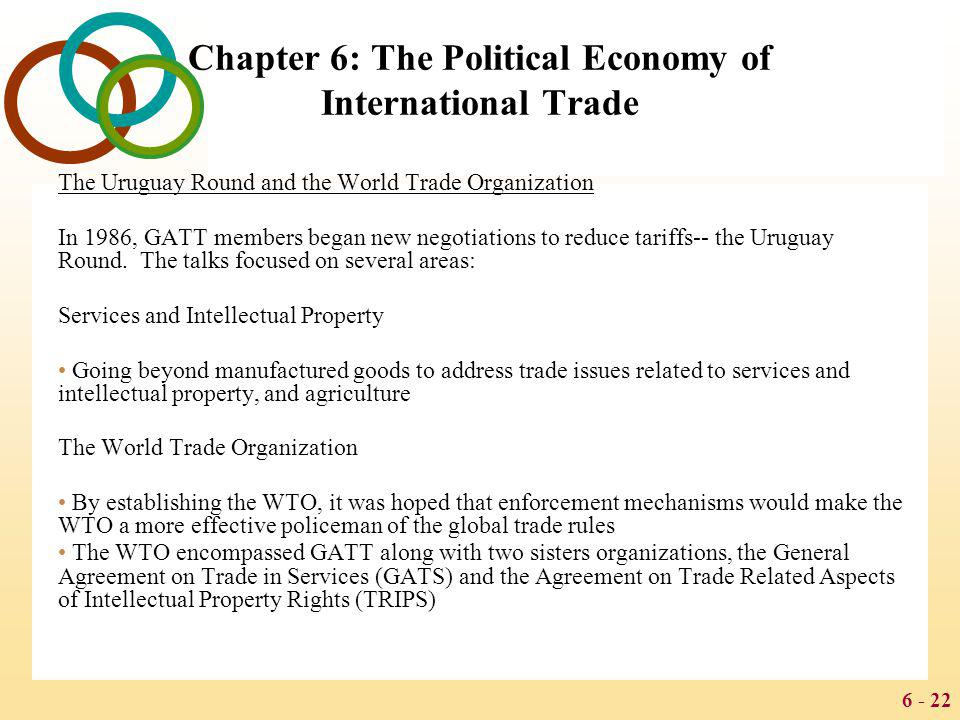 Chapter 6: The Political Economy of International Trade