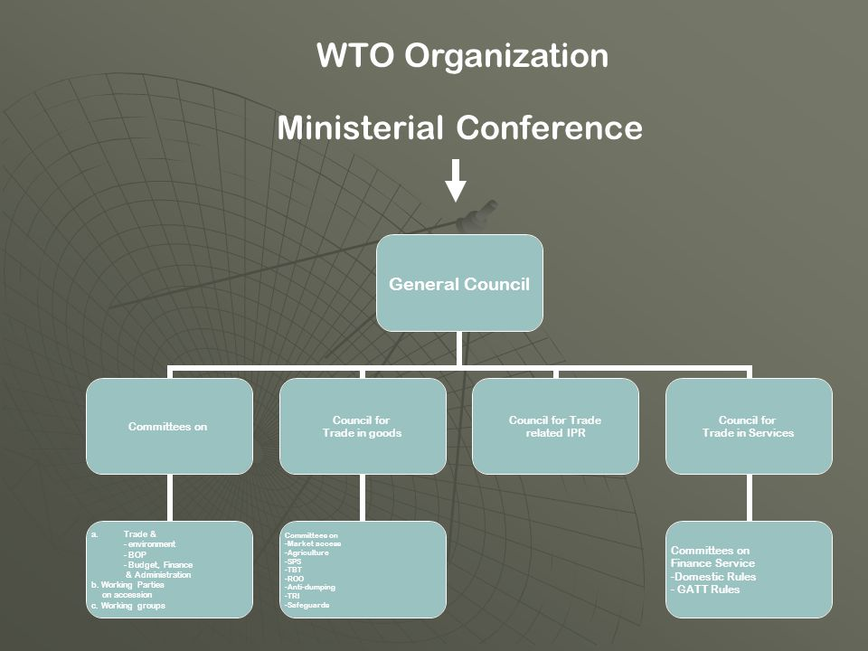 WTO Organization Ministerial Conference