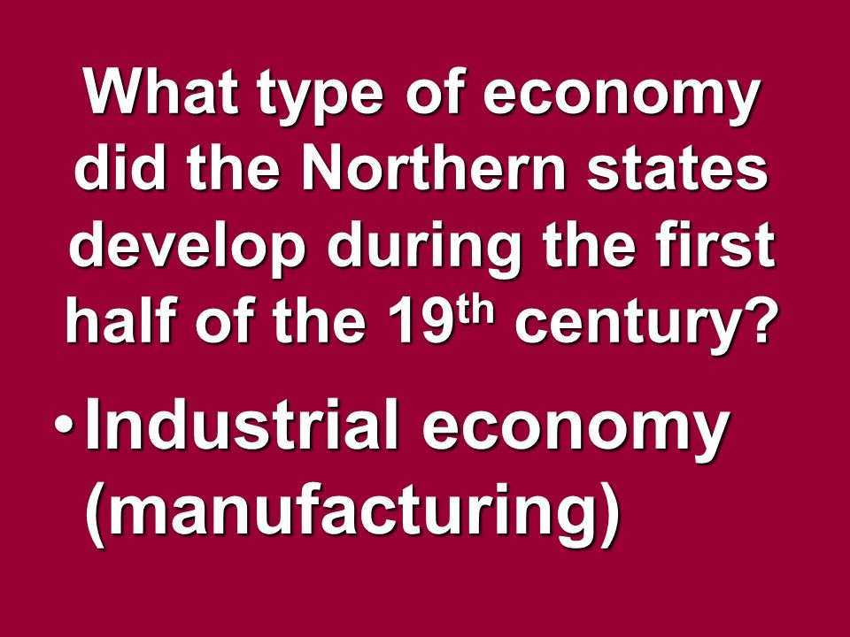 Industrial economy (manufacturing)