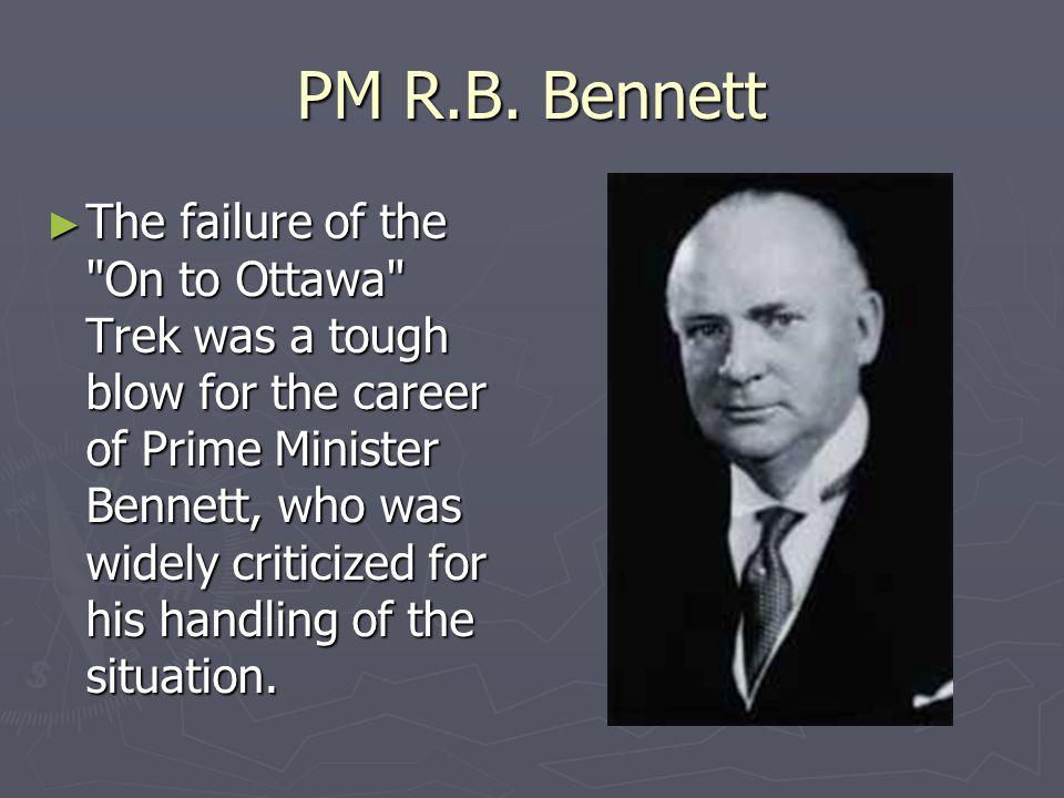 PM R.B. Bennett