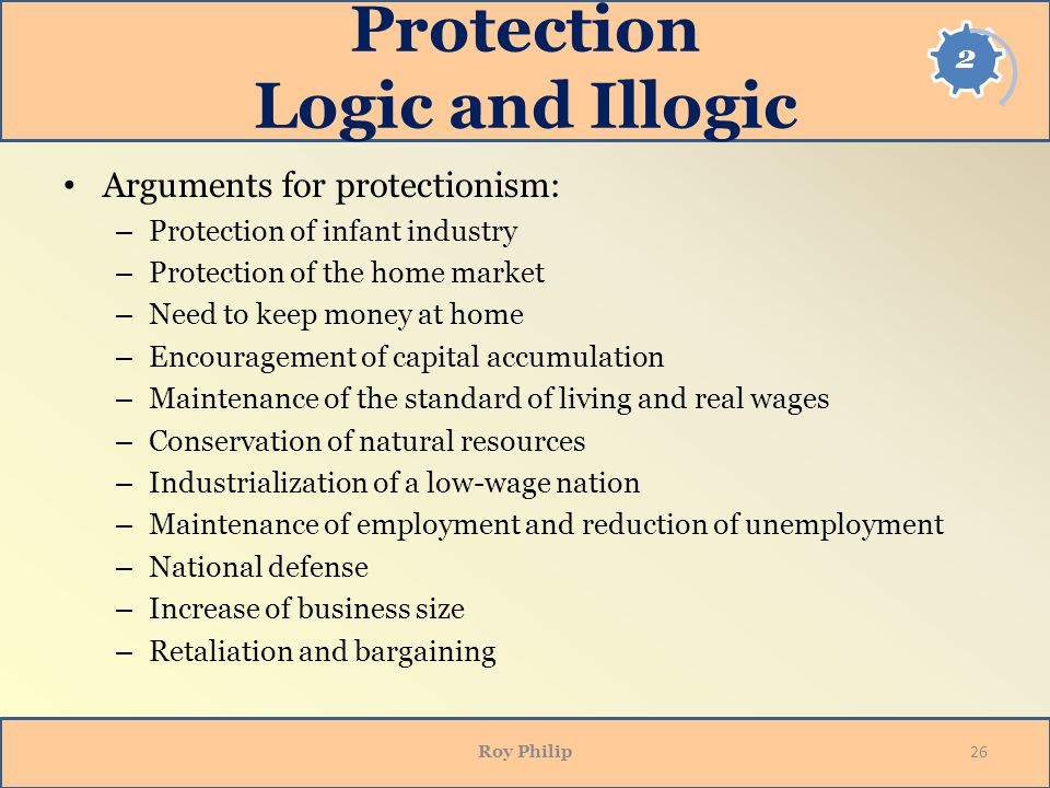 Protection Logic and Illogic