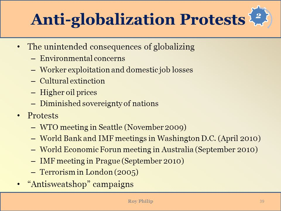 Anti-globalization Protests