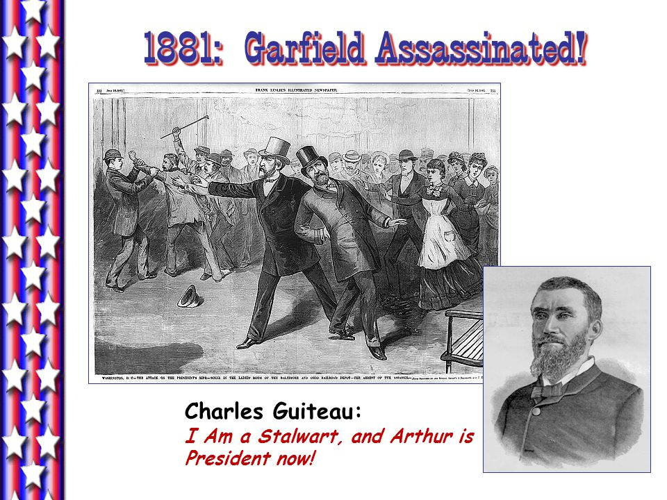 1881: Garfield Assassinated!
