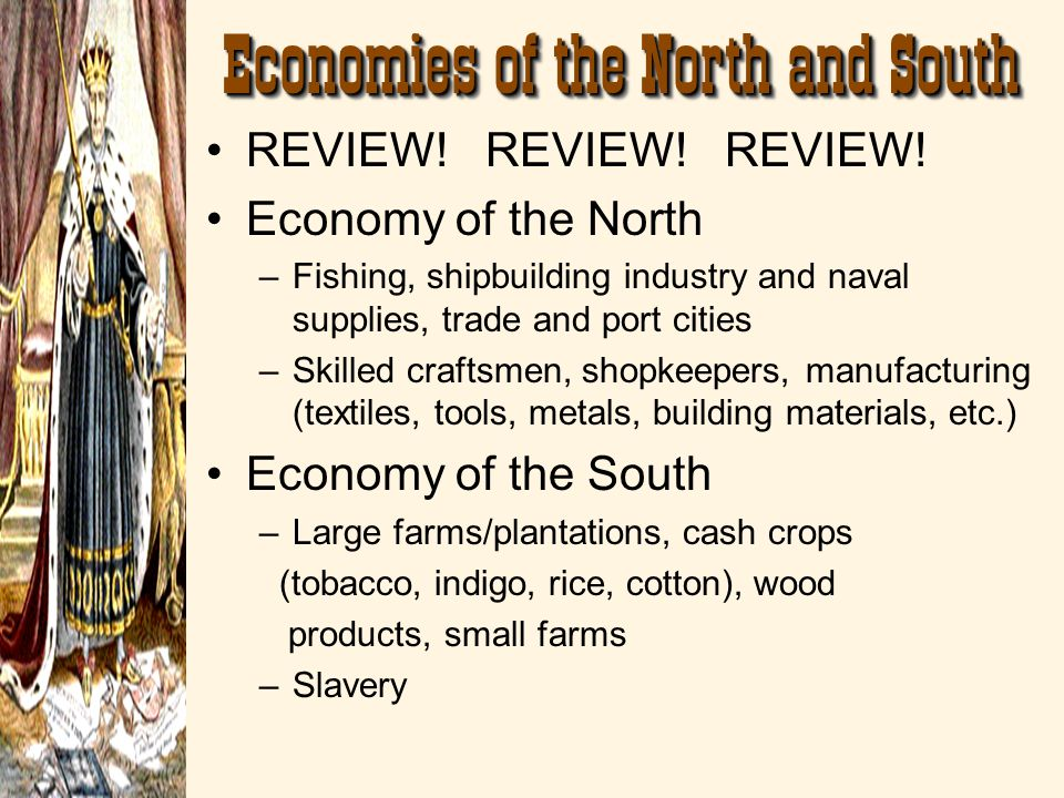 Economies of the North and South