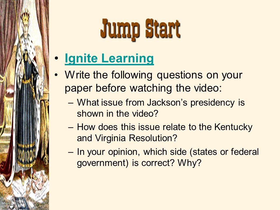 Jump Start Ignite Learning