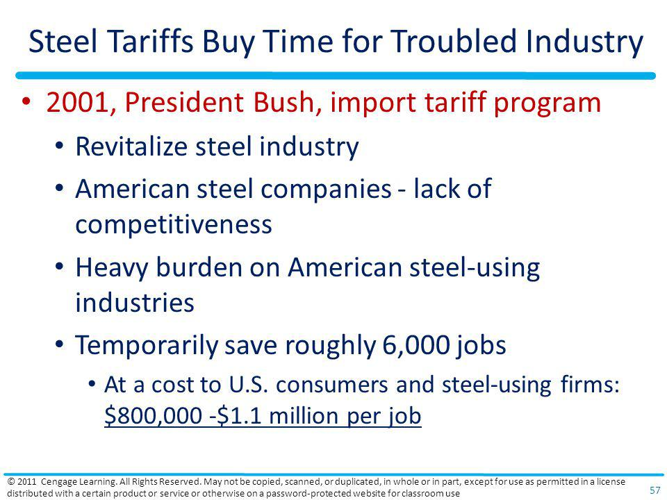 Steel Tariffs Buy Time for Troubled Industry