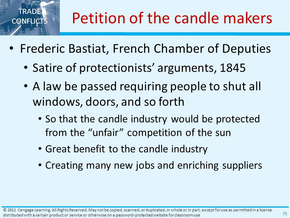 Petition of the candle makers