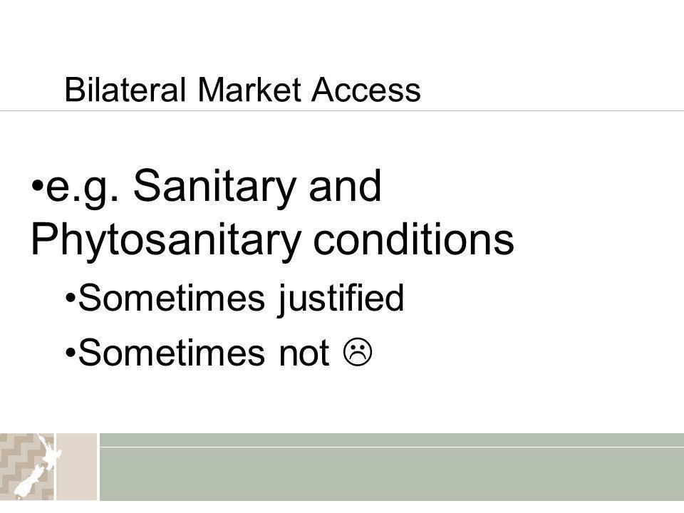 Bilateral Market Access