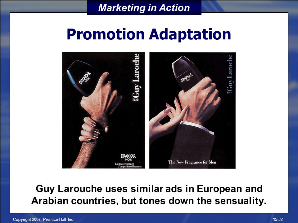 Promotion Adaptation Marketing in Action